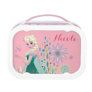 Elsa   Summer Wish with Flowers Lunch Box