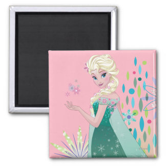 Elsa | Summer Wish with Flowers Magnet