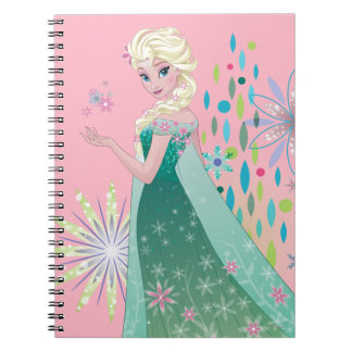 Elsa | Summer Wish with Flowers Notebooks