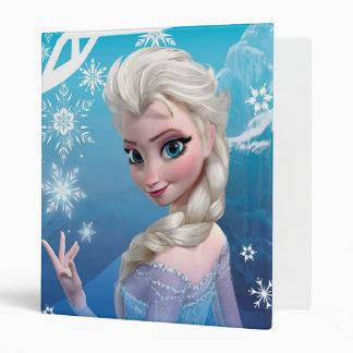 Elsa the Snow Queen Vinyl Binders