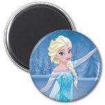Elsa - Winter Magic 2 Inch Round Magnet