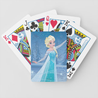Elsa | Winter Magic Bicycle Playing Cards