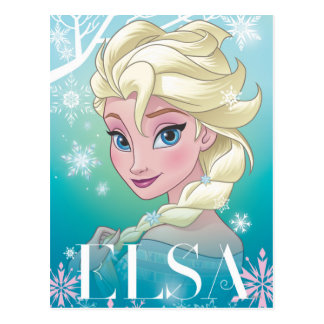 Elsa | Winter Portrait Postcard