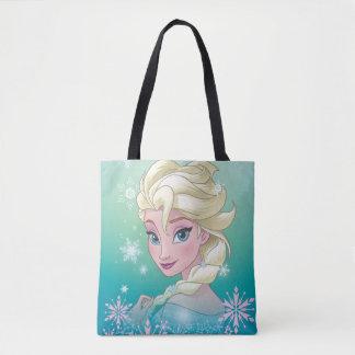 Elsa   Winter Portrait Tote Bag