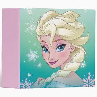 Elsa   Winter Portrait Vinyl Binders