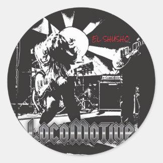 elshusho round sticker