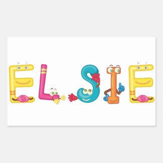 Elsie Sticker