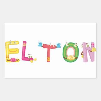Elton Sticker