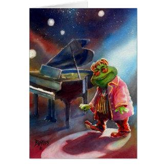 Elton, the Frog Card