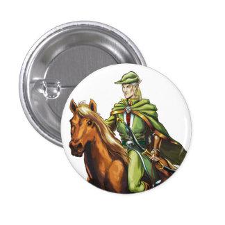 Elurin 1 Inch Round Button