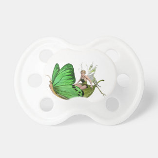 Elven Fairy on a Leaf Boat Pacifier