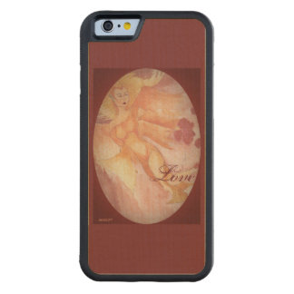 Elven Queen Elf Choose Background Color Carved Maple iPhone 6 Bumper Case