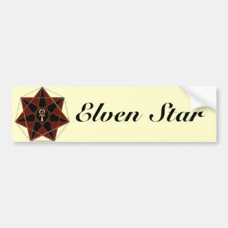 Elven Star Bumper Stickers