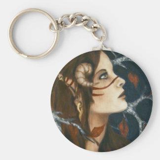 Elven Warrior Keychain