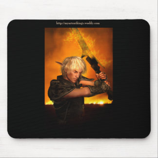 Elven Warrior Mouse Pad