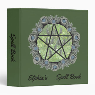 Elvenwood Pentacle Edit BG. Col. BOS Med Binder
