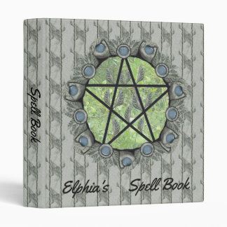 Elvenwood Pentacle Green Leaf BG. BOS Sml Binder