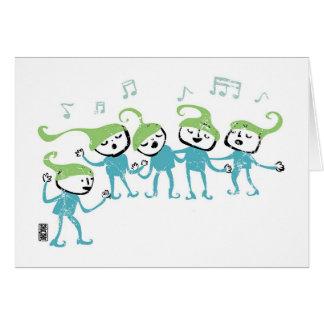Elves Chorus Card