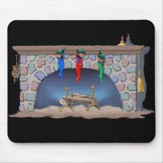 ELVES SLEEPING by SHARON SHARPE Mouse Pad