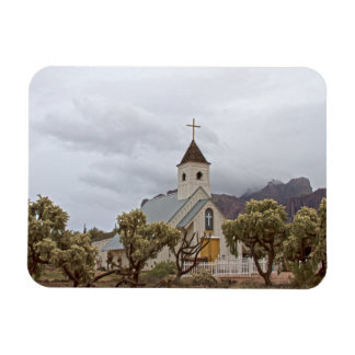Elvis church at the Superstition mountains Magnet