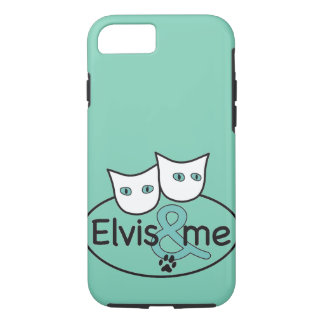 'Elvis & me' iPhone 7 Tough Case