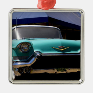 Elvis Presley's Green Cadillac Convertible in Metal Ornament