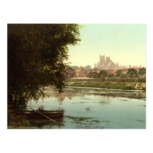 Ely Cathedral, Cambridgeshire, England Postcard