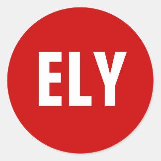 ELY Sticker 1