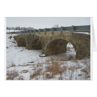 Ely's Historic Stone bridge Card