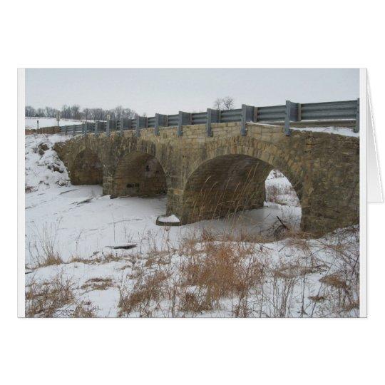 Ely's Historic Stone bridge Card