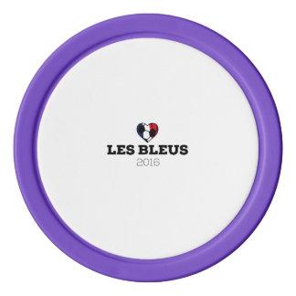 EM 2016 Les bleus France Poker Chips
