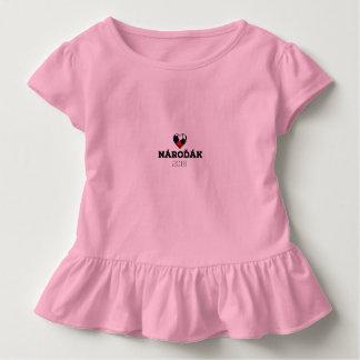 EM 2016 Nároďák Czech Toddler T-shirt