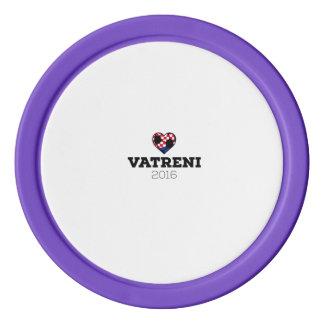 EM 2016 Vatreni Croatia Poker Chip Set