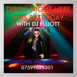 EM_ADJ-EPSILON_FX, d man, DANCING MAN DISCOS, D... Poster
