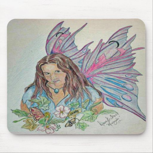 Ema Fairy Mousepad