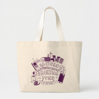 EMA Fund Purple Tote