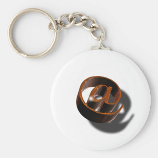 Email-email-1376384 Basic Round Button Keychain