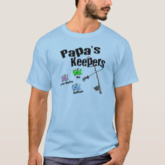 Email me BEFORE you order for Papa's Keepers T-Shirt