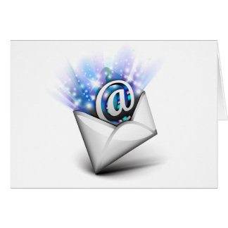 Email radiating card