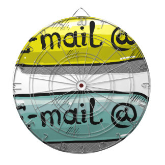 EMail Sketch Button Web Dartboard