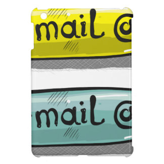 EMail Sketch Button Web iPad Mini Cases