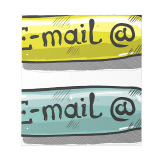 EMail Sketch Button Web Notepad