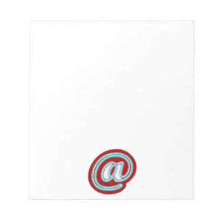 eMail symbol Notepads