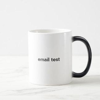 email test 11 oz magic heat Color-Changing coffee mug