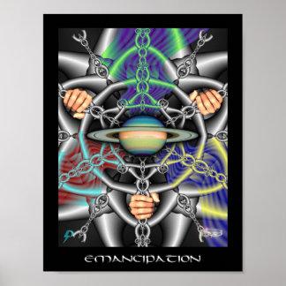 Emancipation (8.5x11) poster
