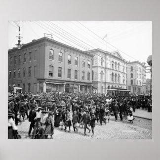 Emancipation Day, Richmond, Va. c1905 Poster