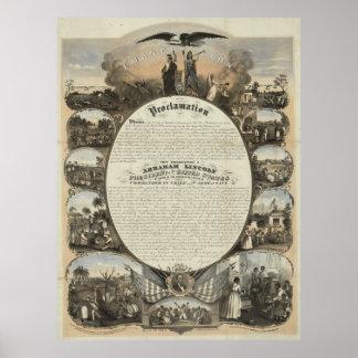 Emancipation Proclamation [1864] Poster