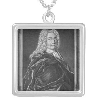 Emanuel Swedenborg Silver Plated Necklace
