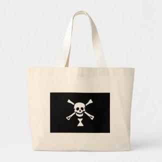 Emanuel Wynn Jolly Roger Large Tote Bag