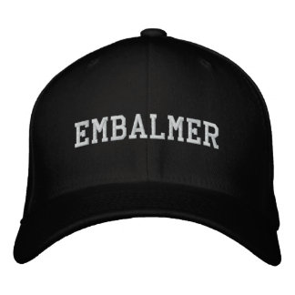 Embalmer Embroidered Hat